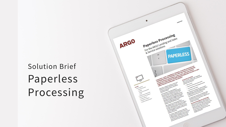 SB Paperless Processing
