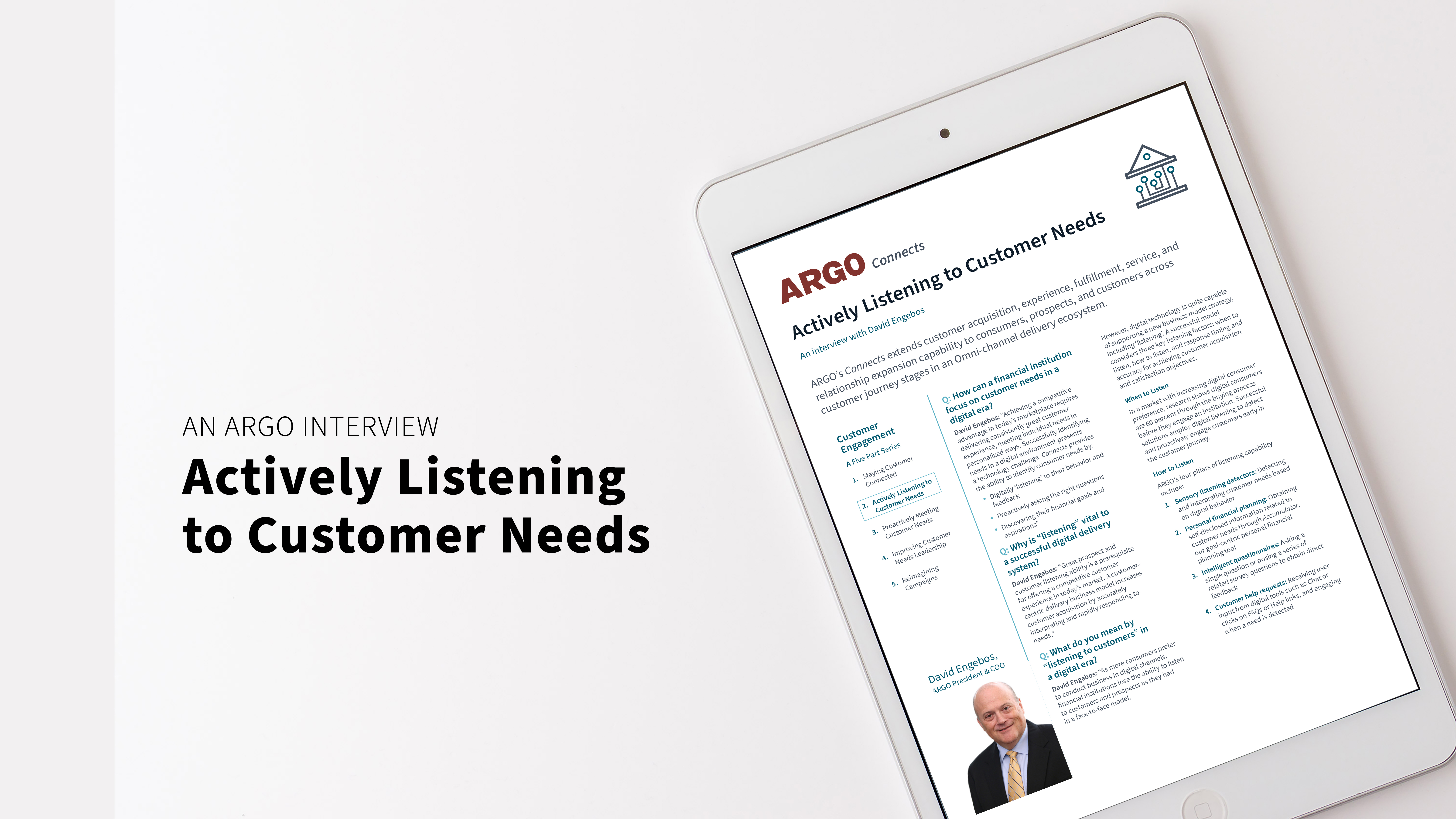 Actively Listening to Customer Needs