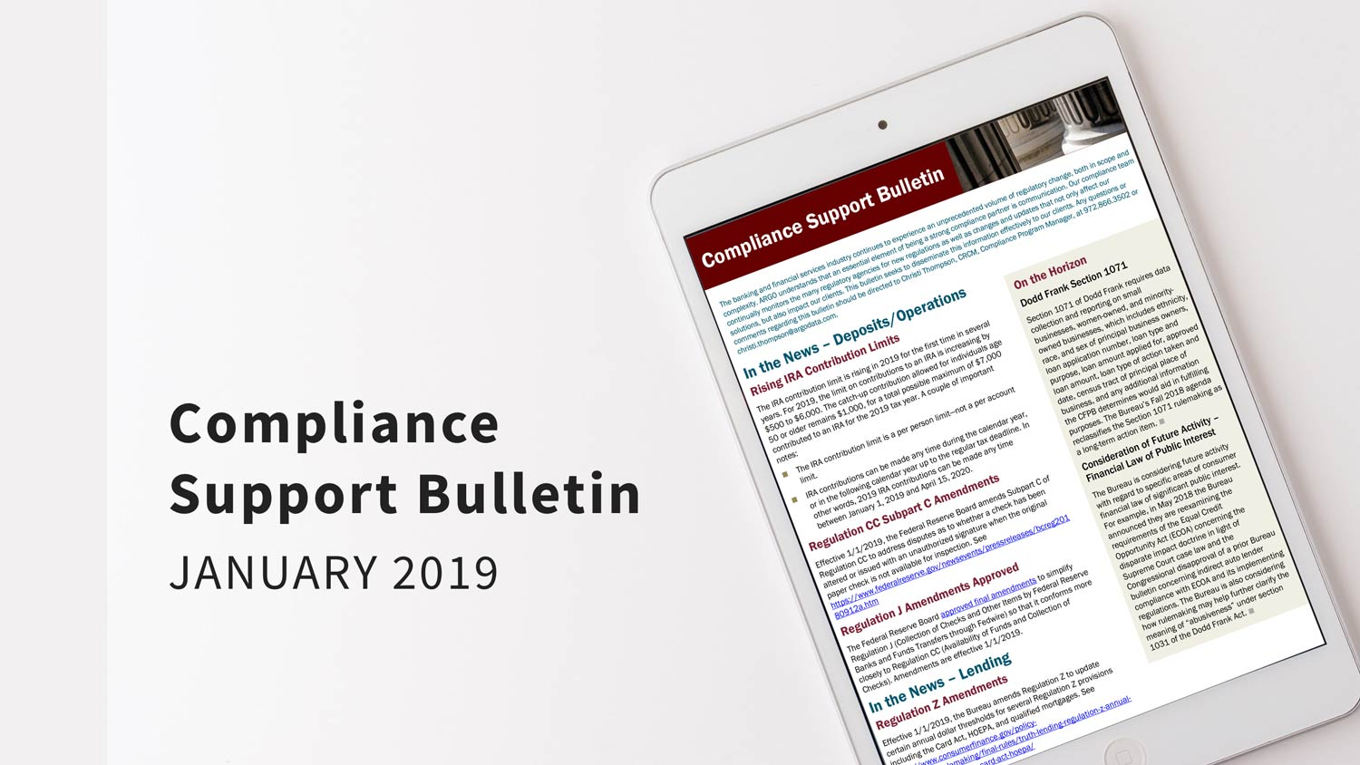 ARGO-compliance-bulletin-jan-2019