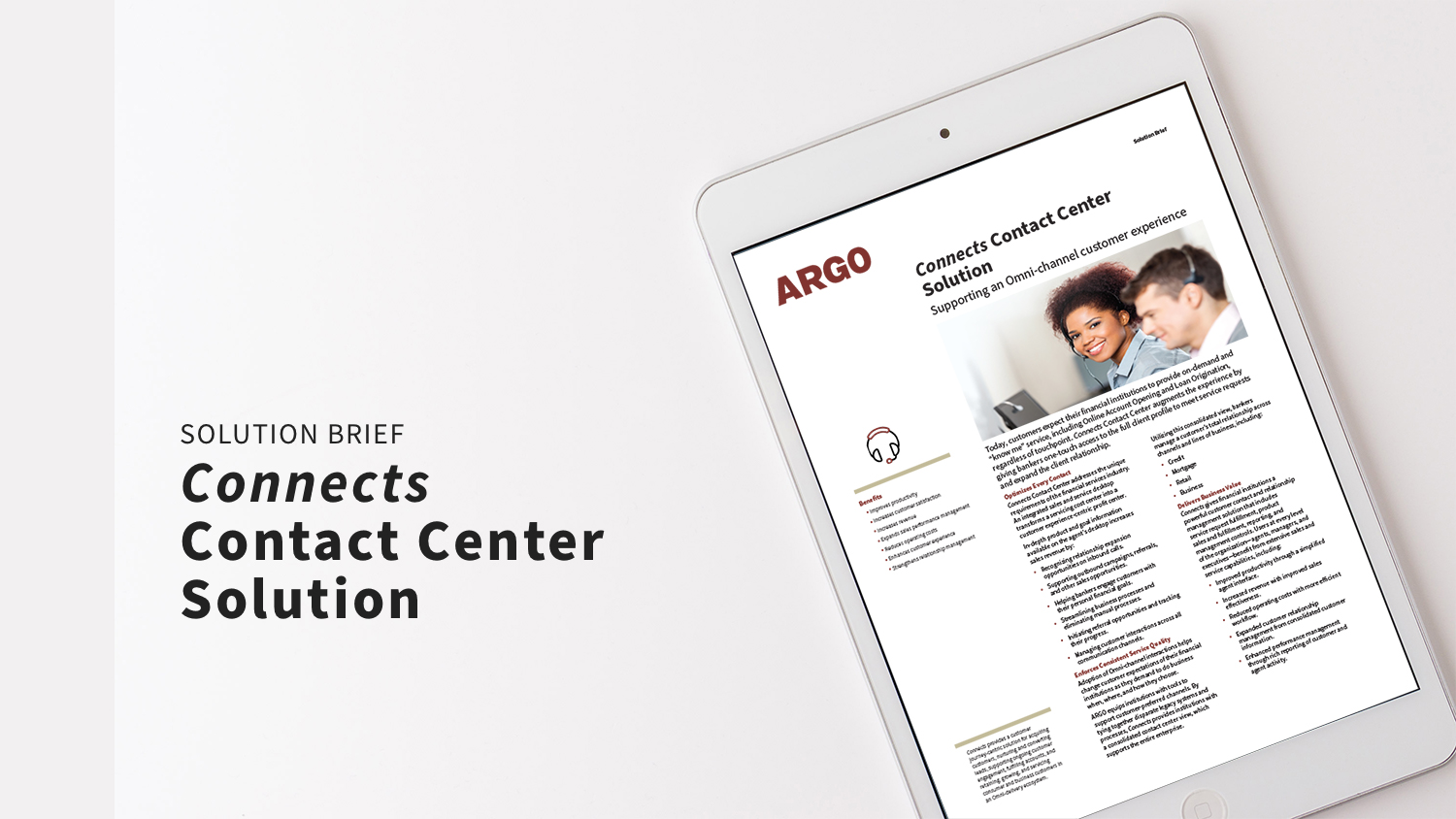 Connects Contact Center Solution_SB