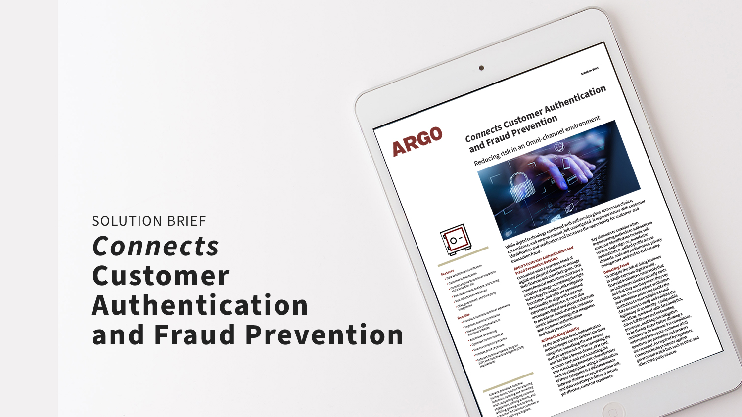 Connects Customer Authentication and Fraud Prevention_SB