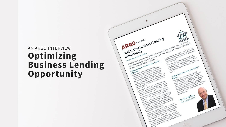Optimizing-Business-Lending-Opportunity