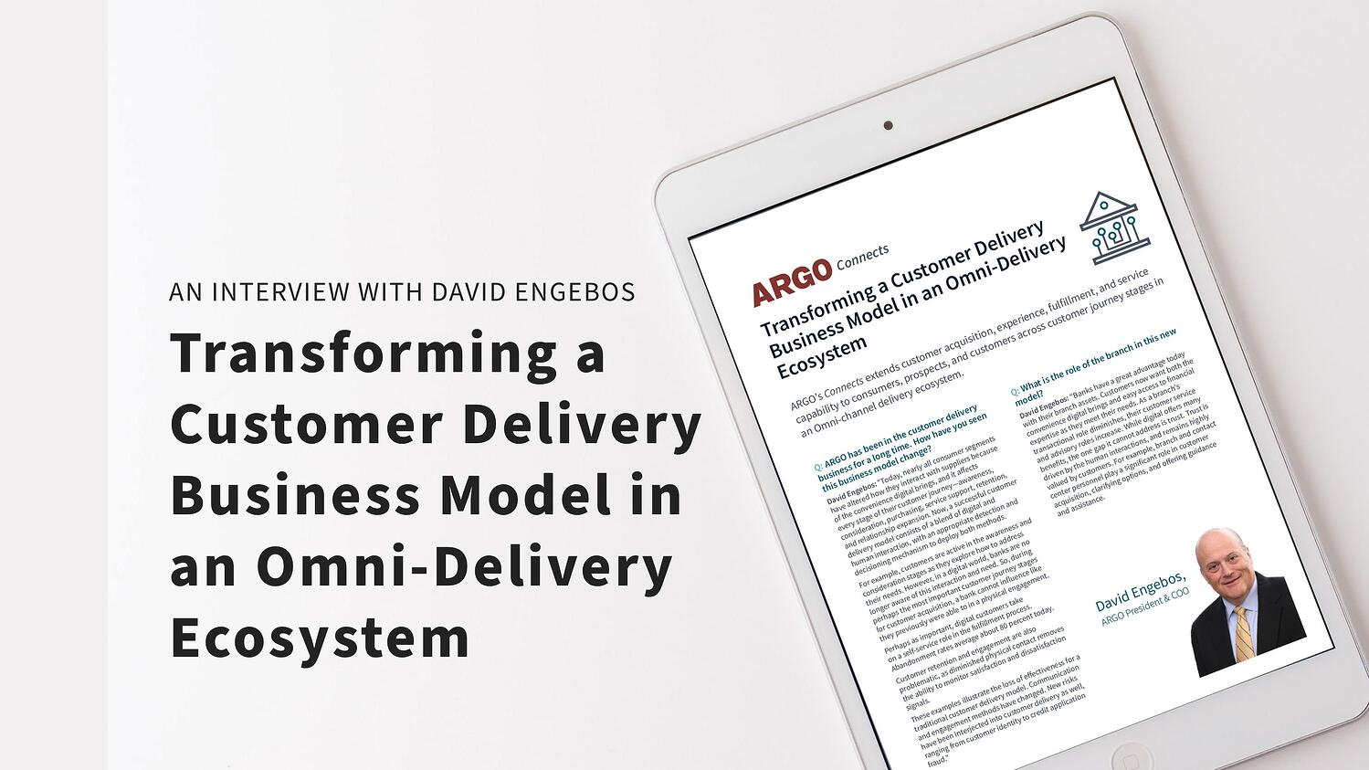 Transforming a Customer Delivery Business Model in an Omni-Delivery Ecosystem