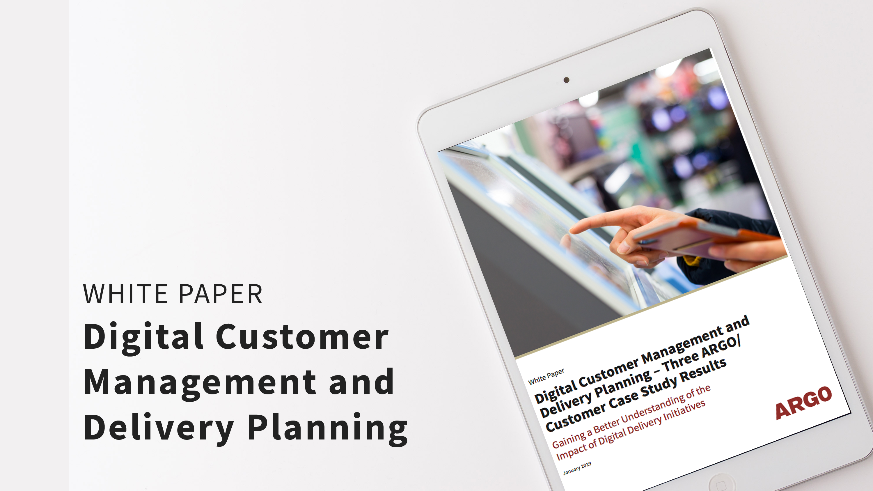 WP Digital Customer Management and Delivery Planning